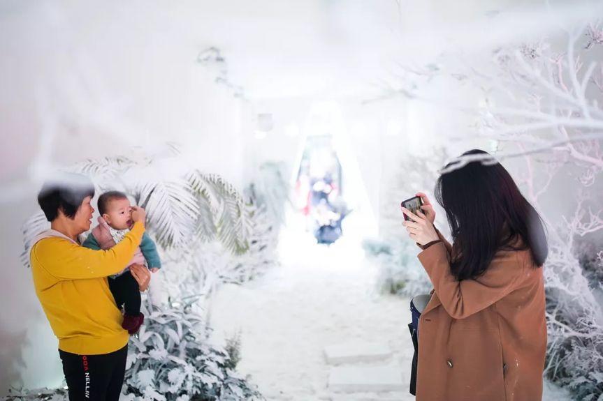 这个白色情人节,聚划算为汕头下了场22度的雪