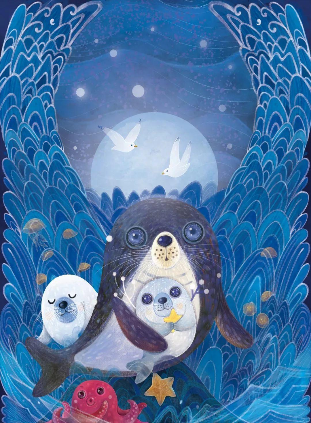 用海报拯救海豹,百度设计师做了一件暖心的小事